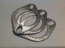 """3 x 2 1/2"""" (63mm) Exhaust Gaskets, High Performance, Two Pin, Fire Ringed"""