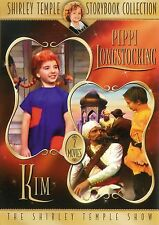The Shirley Temple Show ~ Pippi Longstocking / Kim New Sealed DVD FREE Shipping