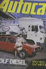 April Autocar Cars, 1970s Magazines in English