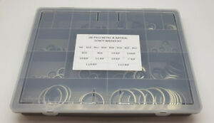 180 Pce HYDRAULIC METRIC & IMPERIAL DOWTY BONDED WASHER KIT 1/8-1.1/2 & M6-M24