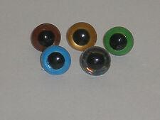 B510 1 Paar Sicherheitsaugen Puppenaugen Teddyaugen Plastikaugen 10mm Augen
