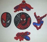 The Amazing Spider-Man Spider man Patch Patches~5 Types~Embroidered~Iron Sew
