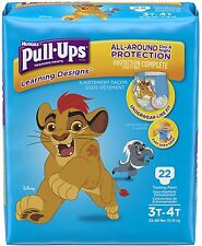 Huggies Pull Ups Learning Designs Training Pants for Boys, 3T-4T 22 ea