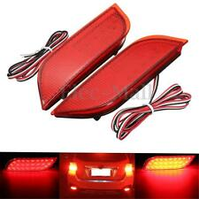 2x 26LED Rear Bumper Reflector Tail Brake Stop Turning Light For Subaru Impreza