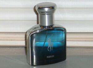 POLO DEEP BLUE Parfum by RALPH LAUREN Men's PARFUM Spray, Travel 1.36 oz., 40 ml