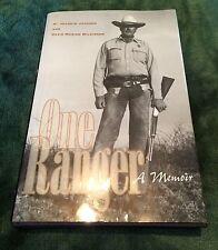 Texas Estate TEXANA ONE RANGER A Memoir JOAQUIN JACKSON SIGNED