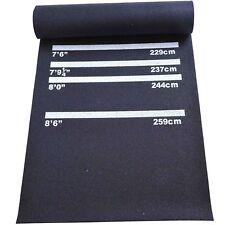 Dartmatte Gummimatte Dart Teppich für Steeldart Softdart rutschfest 300 X 61cm