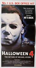 Halloween IV The Return of Michael Myers  Australian Daybill Poster 1988
