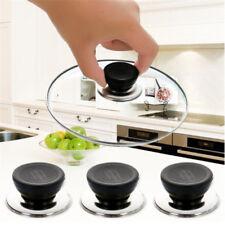 Knob Handle Cookware Plastic Handgrip Kitchen Tool Pot Lid Cover Pan Silicone SU