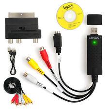 USB 2.0 VHS Cassette Audio Vidéo Convertisseur pour PC DVD acoustique périte