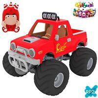 ODDBODS Fuse & Car Monster Truck Action Vehicle AV4501F RP2 Cartoon Character