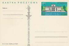 Poland prepaid postcard (Cp 356) WARSAW tourism