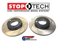 StopTech Grooved Uprated Front Brake Discs x 2 - For Datsun S30 260Z L26