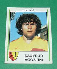 N°96 SAUVEUR AGOSTINI RCL BOLLAERT RC LENS PANINI FOOTBALL 81 1980-1981