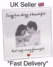 Glass Photo Frame Every Love Story Romantic Love Gift Ideas For Her & Him SH195