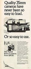 1968 Advertising - Kodak Retina S Camera - from 1968 Magazine