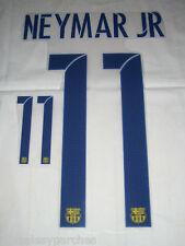 Dorsal nombre y número NEYMAR JR #11 para camiseta FC Barcelona (Desde Madrid)