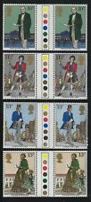 Great Britain 1979 Rowland Hill Gutter Pairs set Sc# 871-74 Nh