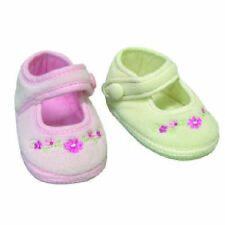 FREE POST!   2 X PAIRS GOLDBUG PINK & CREAM BABY SHOES PRE-WALKERS 3-6 MONTHS