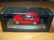 Modellauto BMW 1er F20 rot  M 1:43