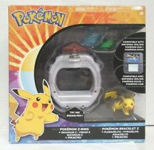 Pokemon Z-Ring Crystal Bracelet Set With Pikachu For Sun And Moon Tomy New