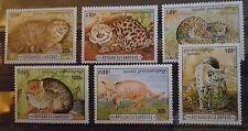 Briefmarken Katzen Kambodscha satz,postfrisch