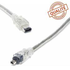 Cable video de liaison camescope/PC DV firewire i.link 6/4 comp.SONY VMC-IL4615