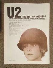 U2 Best of 1998 press advert Full page 30 x 40 cm mini poster