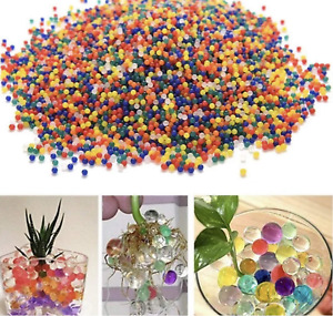 10000 Orbeez Water Aqua Soil Crystal Bio Gel Balls Beads Decoration Vase Filler