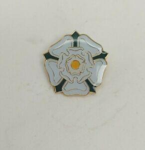 Yorkshire Rose Enamel Pin Badges