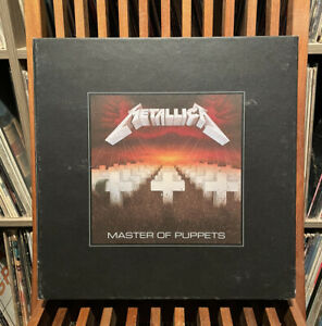 Metallica - Master of Puppets Super Deluxe Box Set Limited Boxed CD LP Vinyl DVD