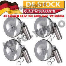 4x Kolben Satz für Audi Seat VW Skoda 2,0 TFSI TSI CDNB CDNC CDND 06J107103N NEU
