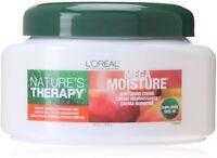 L'Oreal Natures Therapy Mega Moisture Nurturing Creme, 16 oz (Pack of 2 x 16oz)