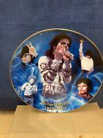 Michael Jackson The King Of Pop Brooks & Bentley plate no certificate