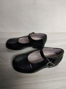 Stride rite AMY MJ BLACK PATENT SHOES size 8Holiday Weddings Christmas
