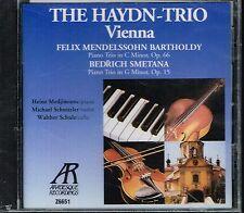 CD album: Mendelssohn - Smetana. the Haydn trio Vienna. arabesque. C5