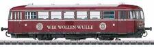 Locomotoras de escala H0 rojos digitales para modelismo ferroviario