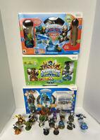Skylanders Wii Lot 2 Portals 3 Boxes 24 Total Spyro Swap Force Trap Team Bundle