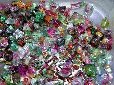 Watermelon Tourmaline crystal mixed grade 5-10mm gemmy 25 carat lot 2-5 piece