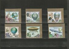 a90 - CHAD - SG664-669 MNH 1983 BICENTENARY MANNED FLIGHT - IMPERF