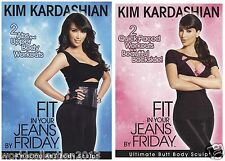 Kim Kardashian Fit in Your Jeans by Friday DVDs Lower & Upper Body Workout Set