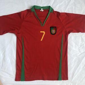 2008-10 Nike Portugal Football Shirt CRISTIANO RONALDO Jersey Camiseta Sz S Kids