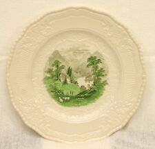 "ROYAL DOULTON D5745 11"" Plate Green Landscape Made in England (Scene 1)"