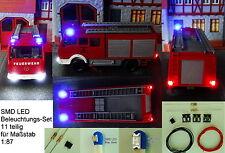 SMD LED Beleuchtungsset Bausatz Blinkt Polizei Feuerwehr Spur H0 C2816