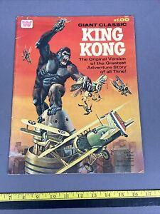 Giant Classic King Kong Comic Book Whitman 1968 Oversized Edition