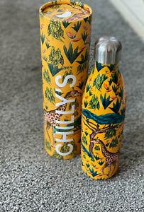 Chillys Bottle Tropical Giraffe , Isolierflasche / Edelstahl-Trinkflasche 750 ml