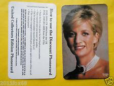 phone cards 75 lady diana princess diana spencer carte telefoniche telefonkarten