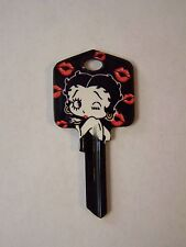 "Betty Boop ""Kisses"" Kwikset House Key Blank / New"
