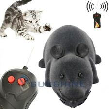 Wireless Remote Control Rc Rat Electronic Mouse For Cat Dog Pet Toy Novelty Us