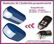 Kompatibel handsender für Chamberlain ML550EV / ML800EV garagentorantriebe